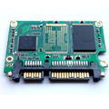Половина тонкий SATA III 256 ГБ sata ssd модуль MLC 4-канальный solid state drive Для Дома HD плеер, Tablet ПК, UMPC