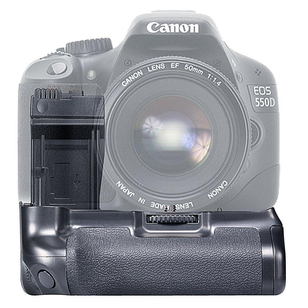 Neewer BG-E8 poignée de batterie de remplacement pour Canon EOS 550D 600D 650D 700D/rebelle T2i T3i T4i T5i appareils photo reflex