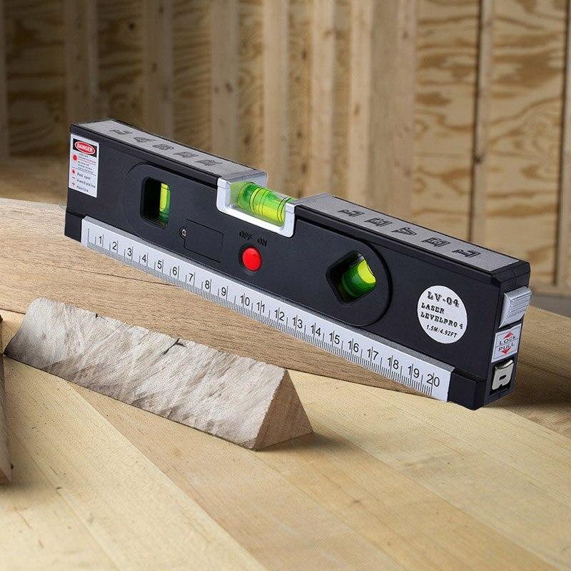 Vertical Level Ruler Magnet Bubble Measurement Tools Level Measure Tools CL