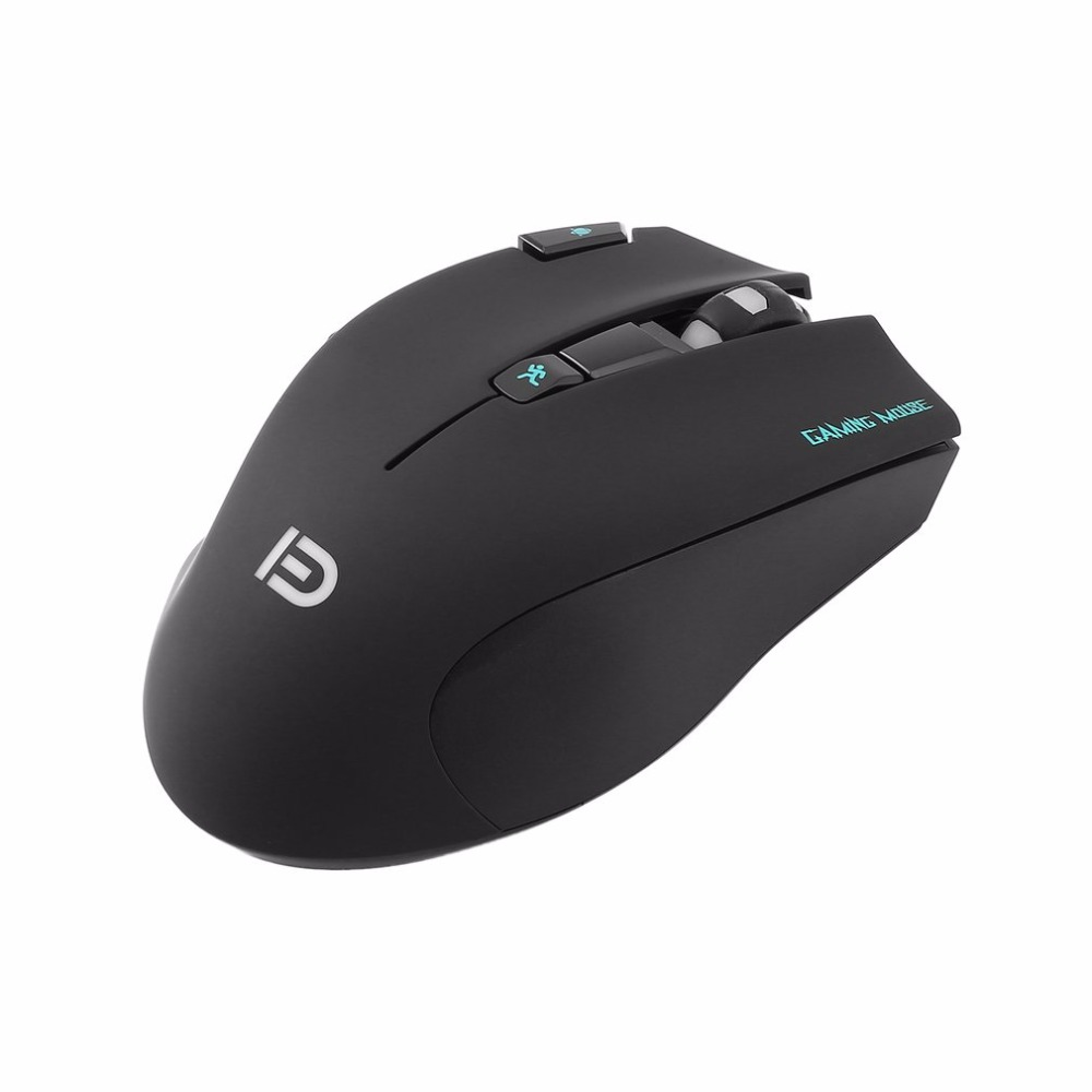 i750 Professional Gaming Wireless Mouse 3000dpi High Speed 500MHZ Gaming Mouse with X2 Button with Colorful 6-Color LED Light