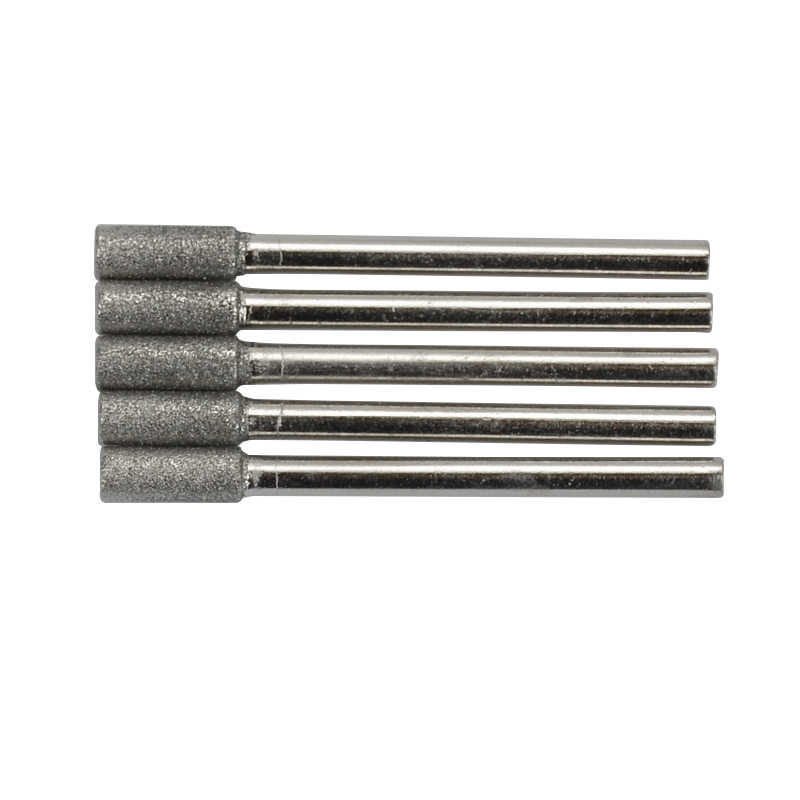 """30 pcs THK Diamond coated CYLINDRICAL burr 4MM Chainsaw Sharpeners 5//32/"""" inch"""