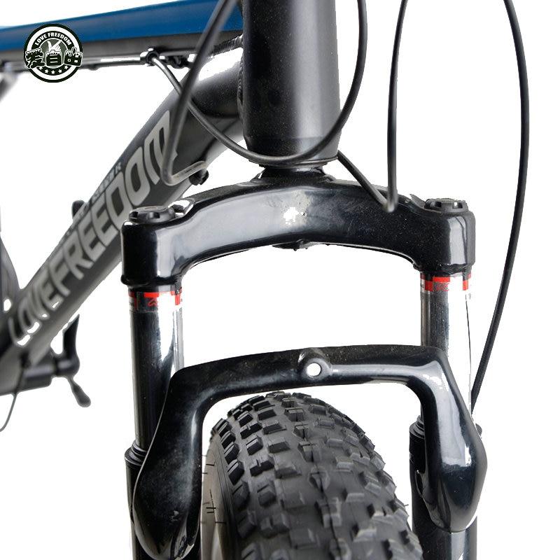 Ljubav Sloboda 7/24/27 Brzina Planinski bicikl Terenska Aluminijska - Biciklizam - Foto 4