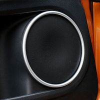 MONTFORD For Honda HR V HRV 2014 2015 2016 ABS Matte Interior Door Audio Speaker Sound