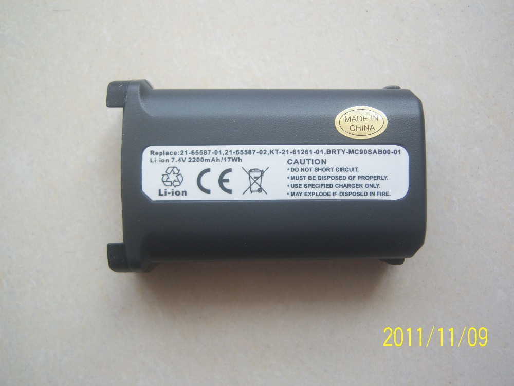 2pcs Barcode Scanner Battery For SYMBOL MC9000 Series MC9000-G MC9000-K MC9010