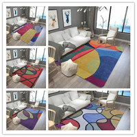 Geometric Color Carpet kitchen Bath water uptake Antiskid Tapete Soft Floor Mats/Rug/Carpets for Living Room Bedroom Decor Rugs