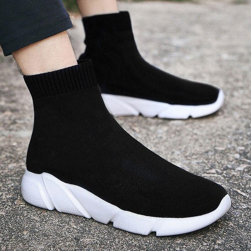 MWY Atmungsaktive Wanderschuhe Frauen Im Freien Männer Sport ShoesTurnschuhe Damen Unisex Socken Turnschuhe Gestrickte Schuhe Jogging Schuhe