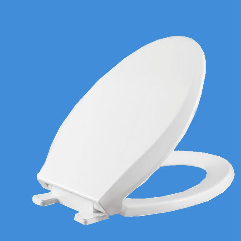 변기 뚜껑 부드러운 폐쇄 고품질 화이트 변기 커버 - 가정 용품