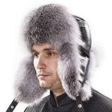 Winter hats Men mink Hats Snow warm Men fur hat water mink hat Fur hats men outdoors leather cap long hair fox raccoon for men
