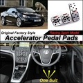 Car Accelerator Pedal Pad / Cover of Original Factory Sport Racing Model Design For Vauxhall Cascada Tuning
