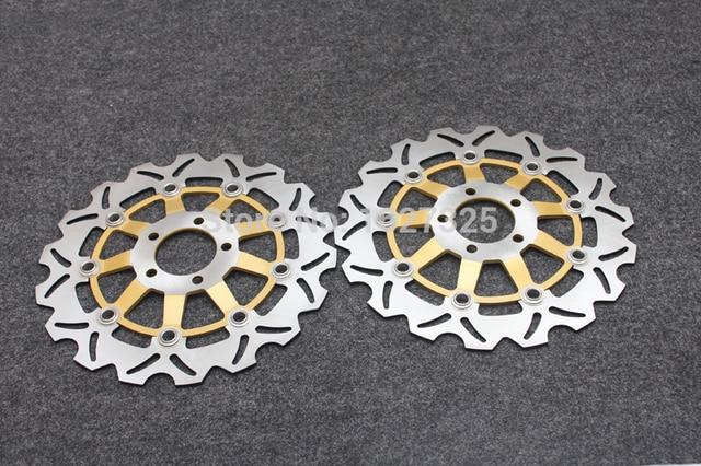Motorcycle Front Brake Disc Rotors For Kawasaki Zx6r Ninja Zx600g
