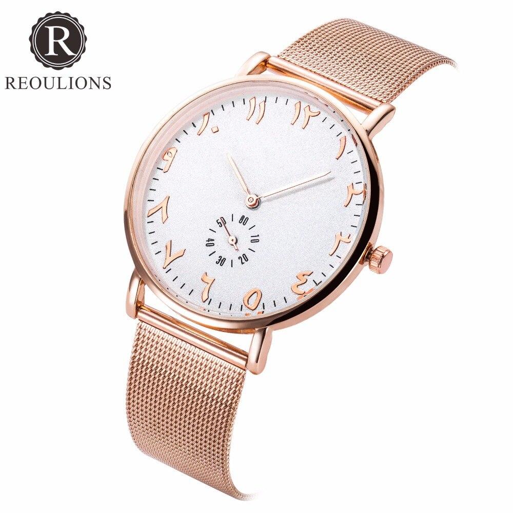 РОУЛІЙИ Top Люкс Бренд Мода Арабські - Жіночі годинники