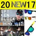 Первое поколение SPY солнцезащитные очки óculos 21 цвета дизайнеры марки мужчины женщины Личность спорт Светоотражающие Красочные очки
