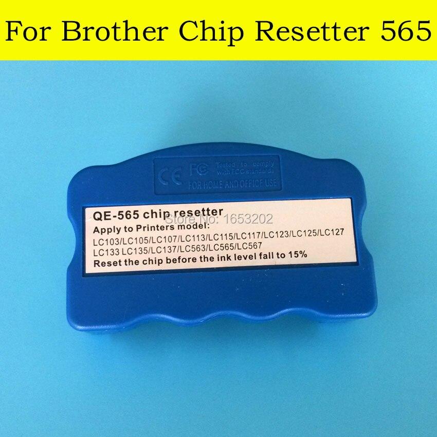 1 PC LC105 LC107 LC115 LC117 LC125 LC127 LC135 LC137 Chip Resetter For Brother MFC J6520/J6720/J152/J245/J4210/J4510/J6920 вог арт картина открытка 152 115