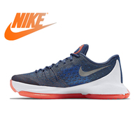 Official Original NIKE Originals KD 8 EP Low Men's Breathable Cool Basketball Shoes Sneakers Authentic Sports outdoor 800259 414