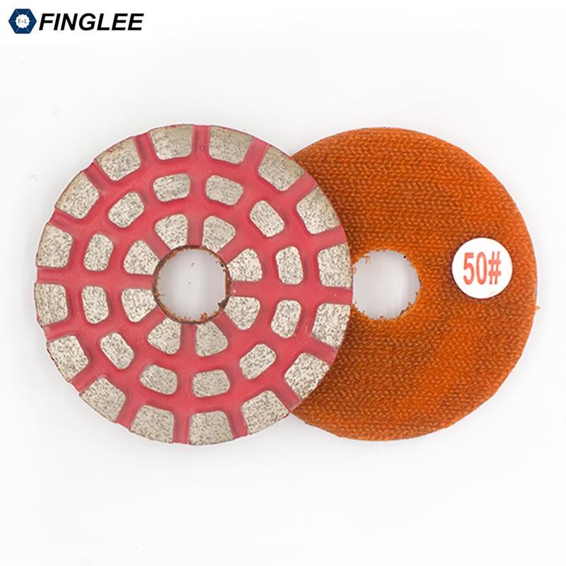 FINGLEE 3 colių / 4 colių metalinių obligacijų granito poliravimo - Elektriniai įrankiai - Nuotrauka 6