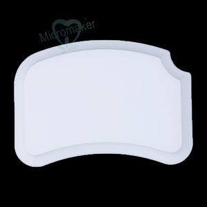 Image 5 - New 1PC Dental Lab Ceramic Palette Porcelain Mixing Watering Plate Wet Tray