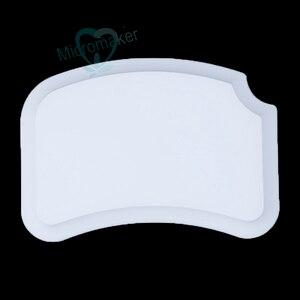 Image 5 - Nowy 1PC laboratorium dentystyczne paleta ceramiczna porcelana mieszanie podlewanie płyta mokra taca