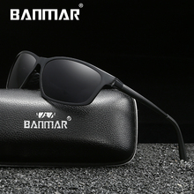 BANMAR Men Polarized Sunglasses Aluminum Magnesium Driving Sun Glasses Men's Classic Brand Sunglasses Accessories Oculos Shades banmar aluminum magnesium men sunglasses polarized sports driving goggles sunglass fishing uv400 square sun glasses for men