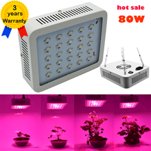 NEW 80W LED Grow Light Full Spectrum Fitolampy Lamps Lights Lamp for Plants Seedlings Panel LED Growing Lights for indoor