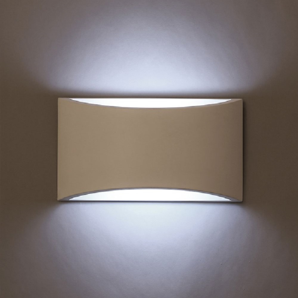 Modern LED Wall Light Handmade Gypsum Sconce with AC110V 220V 5W Bulb Livingroom Bedside Decoration Indoor Lamp