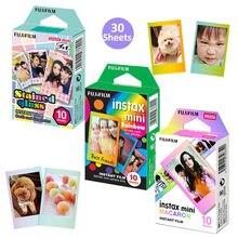 Fujifilm Instax Mini couleur Design cadre Films 30 feuilles pour Fuji instantané Mini 8 9 11 90 1125 70 LiPlay caméra SP 1 lien de SP 2