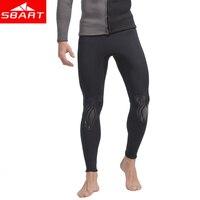 2019 Swimwear Sbart 3mm Neoprene Warm Sun For Protection Upscale Super elastic Pants Male Swimming Trunks Swimsuit Beach Diving