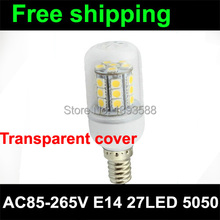 AC85-265v led lamp e14 bulb 300lumens 27leds 5050SMD 3-3.5W milky3 years warranty(China)