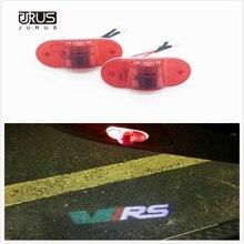JURUS a pair LED car Door Warning Light Logo Projector Laser Ghost Shadow Light For Skoda Octavia 2004 2005 2006 2007 2008 sale