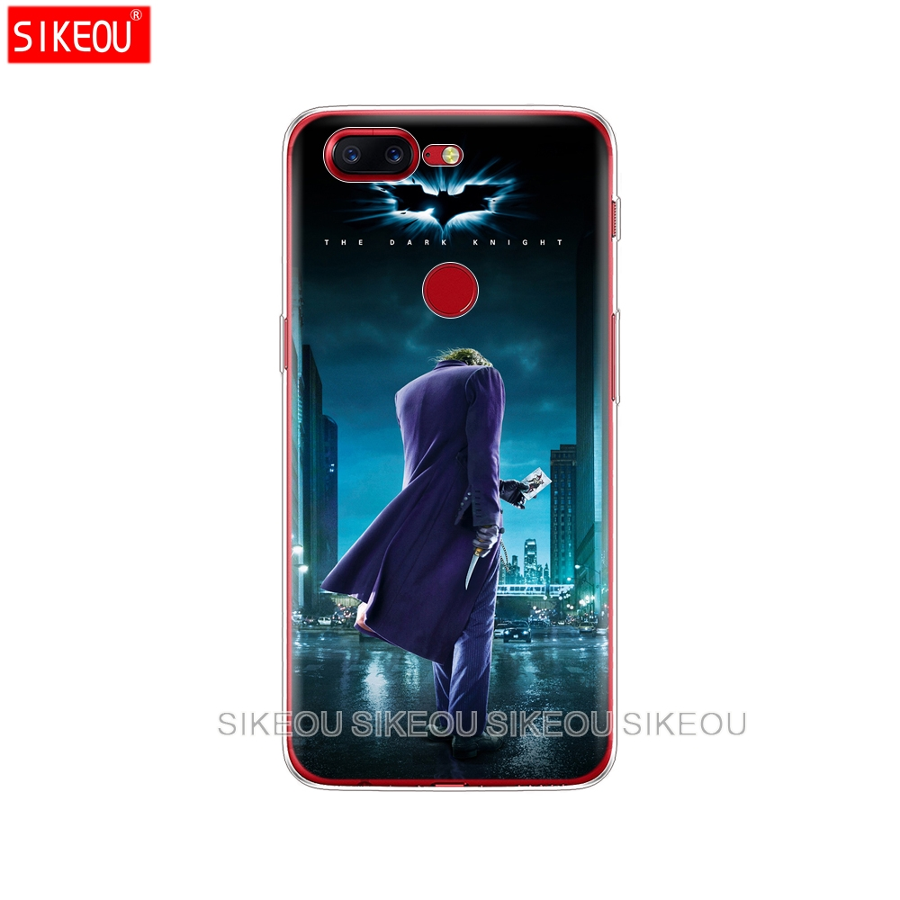 Fitted Cases Silicone Cover Phone Case For Oneplus One Plus 6 5t 5 3 A3000 A5000 Silver Batman