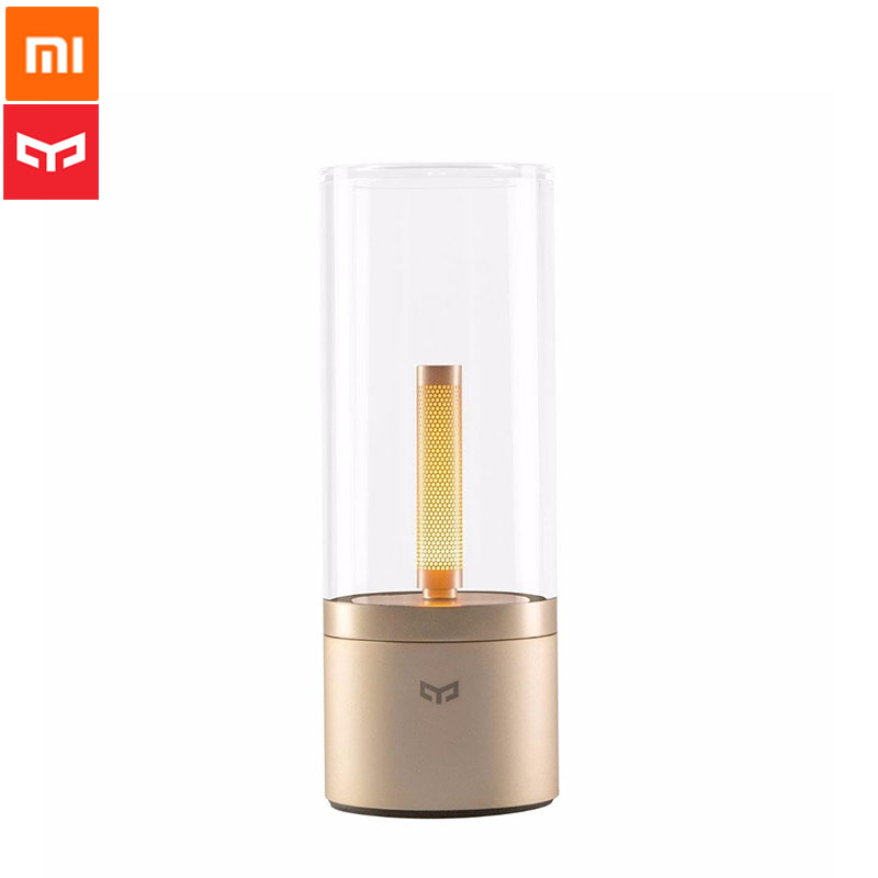 Xiaomi YEELIGHT Candela Smart Atmosphere Candela Light 6 5W Rechargeable Dimmable LED Night Light Smart Control
