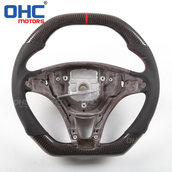 Real Carbon Fiber  Steering  Wheel for Mercedes Benz  E C CLS W218 W212 W204 W207 Class