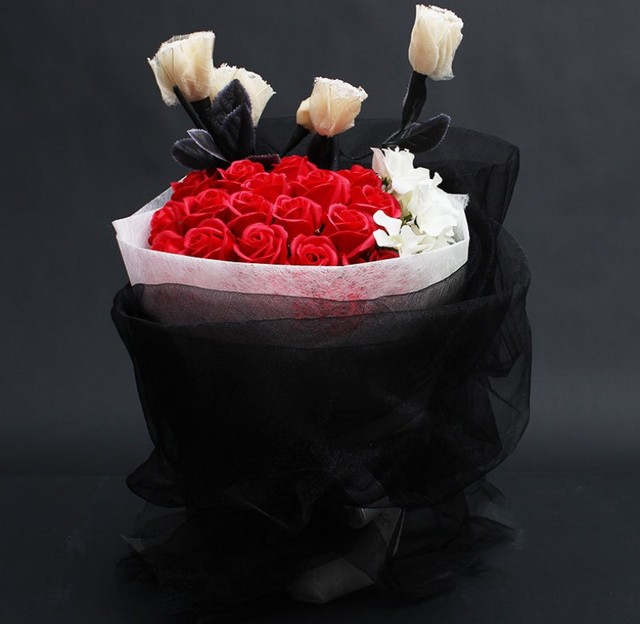 Birthday Bouquet High End Soap Flower Rose Gift To Send Friend