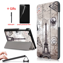 PU Leather Case Cover For Huawei MediaPad T3 7.0 3G BG2-U01 Tablet Stand PC Protective Cover For Huawei MediaPad T3 7.0 3G Case slate 7 3g tablet case for hp slate 7 3g g1v99pa stand leather case with hand holder screen protectors