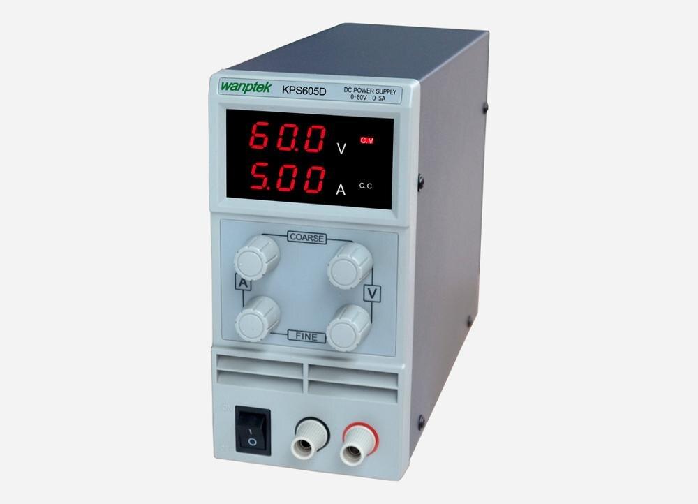KPS605D Variable linéaire réglable laboratoire DC banc alimentation 60V 5A