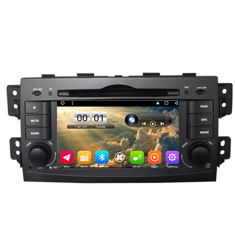 OTOJETA autoradio 2GB ram+32GB rom Android 6.0.1 car dvd player for Kia Borrego Mohave 2008 multimedia radio gps tape recorder