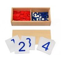 Multiplication Mathématiques Étude Créative En Bois Montessori Jouet Carte De Mathématiques En Bois Calculatrice de L'éducation Jouet Pour Enfants Enfants Jouets