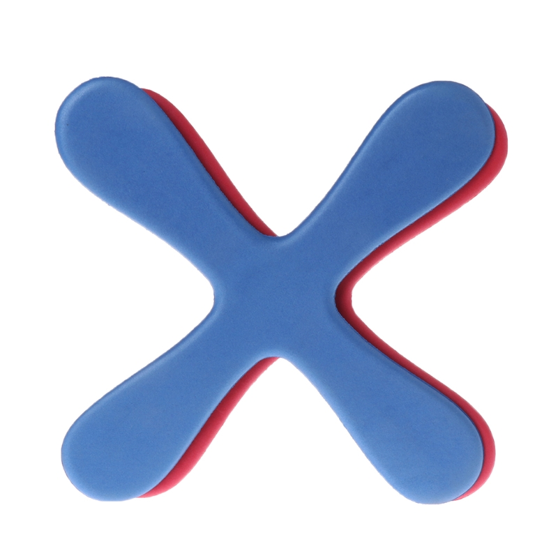 Cross Shape Boomerang Flying Toy Outdoor Park Saucer Funny Game Children Sport X