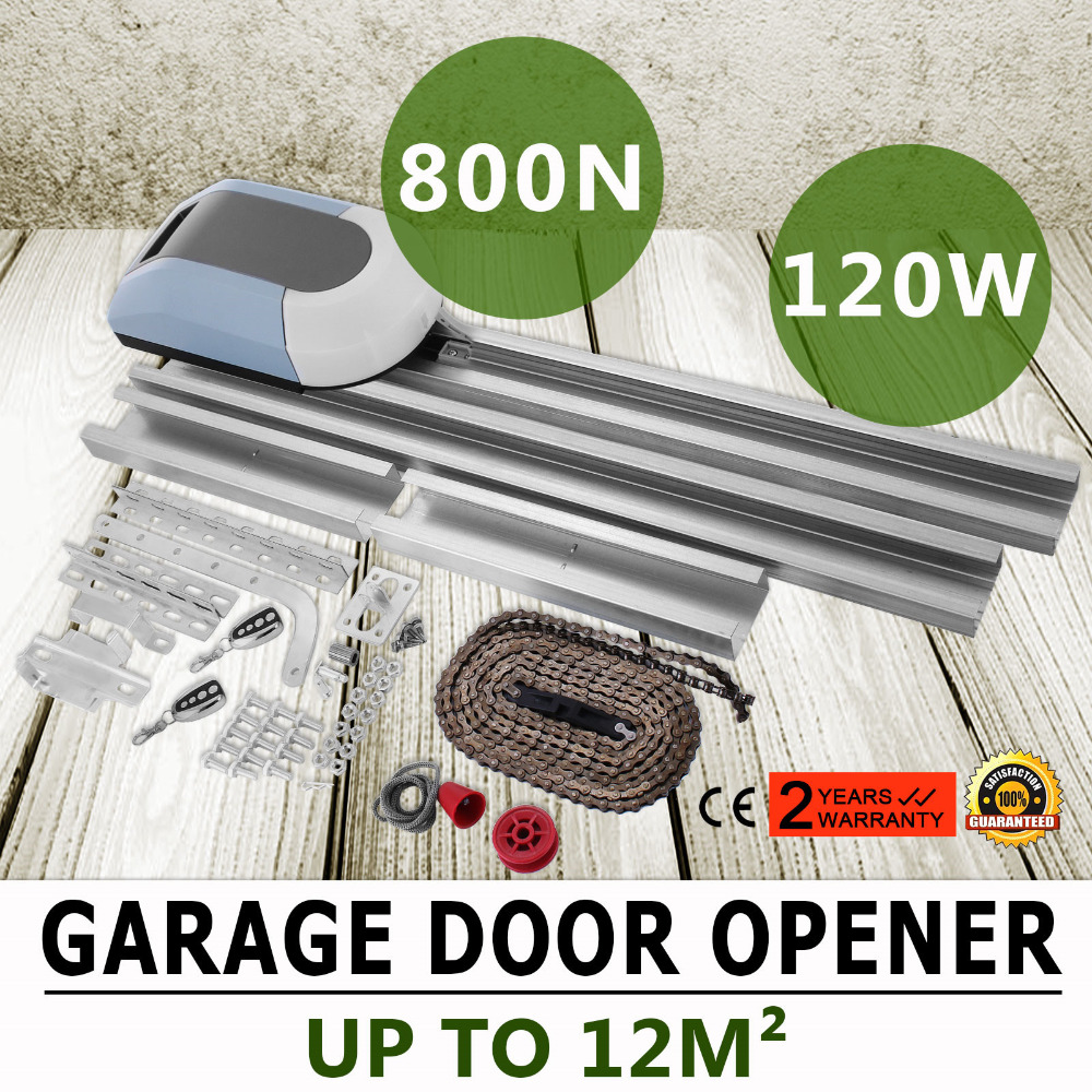 Garage Door Opener Automatic Operator Force 800N Advanced Technology 2 Remote Control