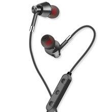 2018 HOT H8 Esporte fone de Ouvido Bluetooth Sem Fio Fone De Ouvido Estéreo Fones De Ouvido De Metal Magnético Para iPhone Xiaomi Fone de fone de ouvido Com Microfone
