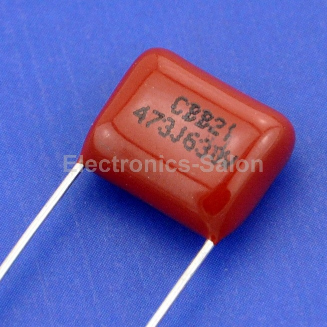 200X 473J 100V  P5 0.047UF 47NF Metallized Film Capacitor