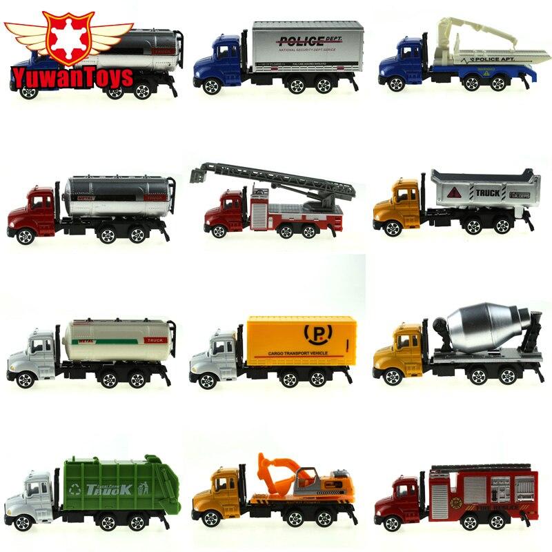METAL Car Diecast Metal Cars Játékok Ötvözet játékok Autó modellek Gyűjthető bőr Város Buldózerek Traktor modellek Teherautó játékok gyerekeknek