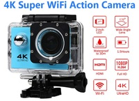1080p Sport Wifi Camera 4K Action Camera 30m Waterproof HD Camcorder 2 0 Screen