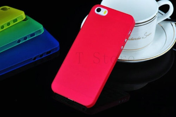 0.3mm Thin Slim Matte frosting Shell Cover Skin iphone5 Case iphone5s Cover Case iphone 5 5s Phone Cases Moblie Phone Bag