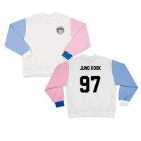 BTS Bangtan Boys Harajuku Sweatshirts Women Wings Concert Casual Hoodies BTS Kpop Hoodie Women S Patchwork