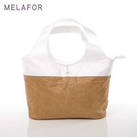 MELAFOR Portable Folding Shopping Bag Feminina Tote Handbags Lady Brand Resuable Shopping Tyvek Bag For Supermarket