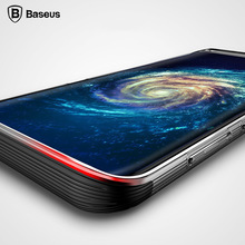 BASEUS силиконовый чехол для Samsung Galaxy S8 роскошный мягкий чехол TPU антидетонационных случаи мобильного телефона чехол для Galaxy S8 S8 плюс Coque