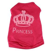 Fashionable Pet Dog Cat Cute Princess T-shirt Vest