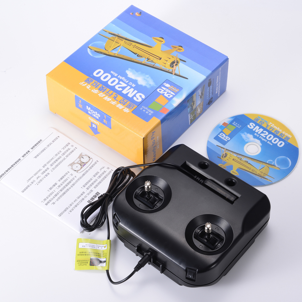 FLASH SALE] DTXMX 8CH RC Flight Simulator support Realflight
