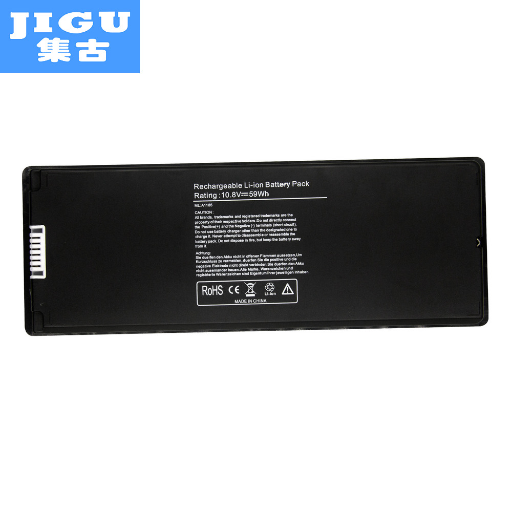 JIGU Laptop Battery For Apple A1185 MA561 for MacBook 13 A1181 MA254 MA255 MA699 MA700 M ...