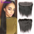 7A Brazilian Straight Virgin Hair Lace Frontal Closure 13x4 Ear To Ear Straight Lace Frontal Closure Human Hair Lace Frontals